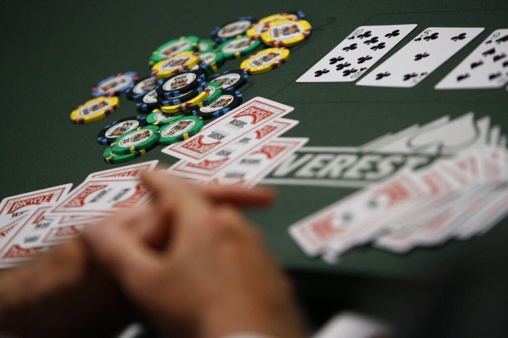 online poker career